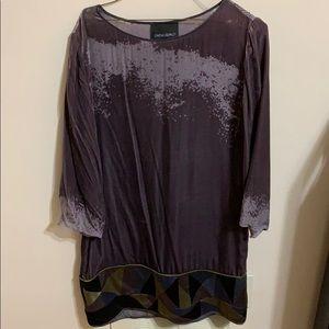 Dresses & Skirts - Cynthia Rowley velvet dress size 6